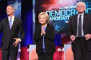 democratic debate hillary clinton bernie sanders martin omalley