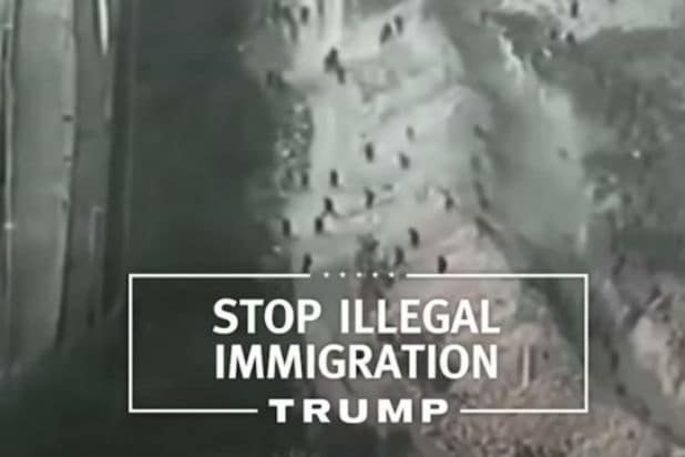 Trump ad shows Morocco instead of Mexican border