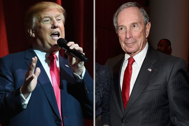 Donald Trump Michael Bloomberg
