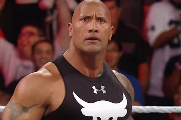 dwayne the rock johnson monday night raw