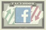 facebook's logo on the iconography of a dollar bill