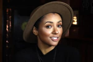 Kat Graham Drinking With the Stars