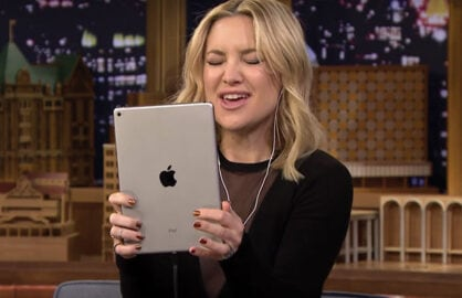 Kate Hudson plays Dubsmash on Fallon