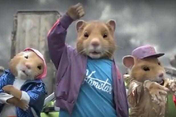 kia dancing hamster