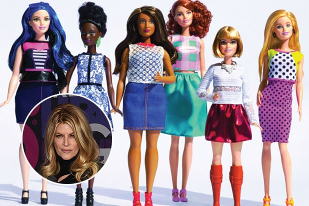 Kirstie Alley isn't happy about the new barbies