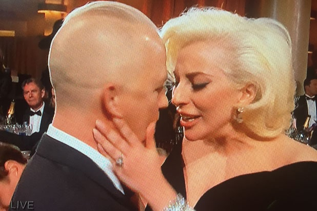 Lady Gaga cries for winning for American Horror Story Hotel