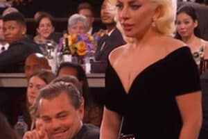 Leonardo DiCaprio responds to his Lady Gaga moment