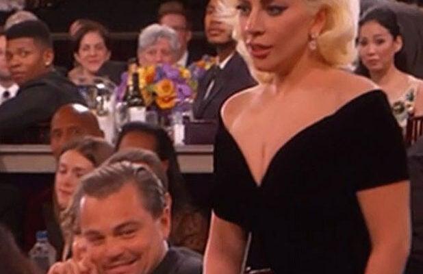 Leonardo Dicaprio Explains Face He Made At Lady Gaga The perfect clapping leonardodicaprio leodicaprio animated gif for your conversation. leonardo dicaprio explains face he made