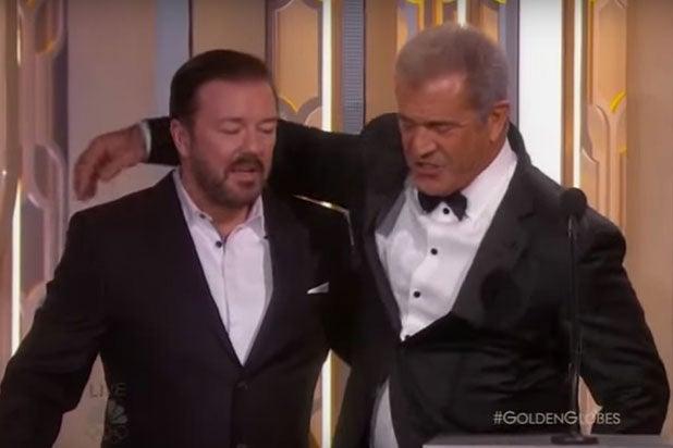 Mel Gibson Ricky Gervais