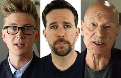 Tyler Oakley, Ed Helms, Sir Patrick Stewart Reveal Their Mentors
