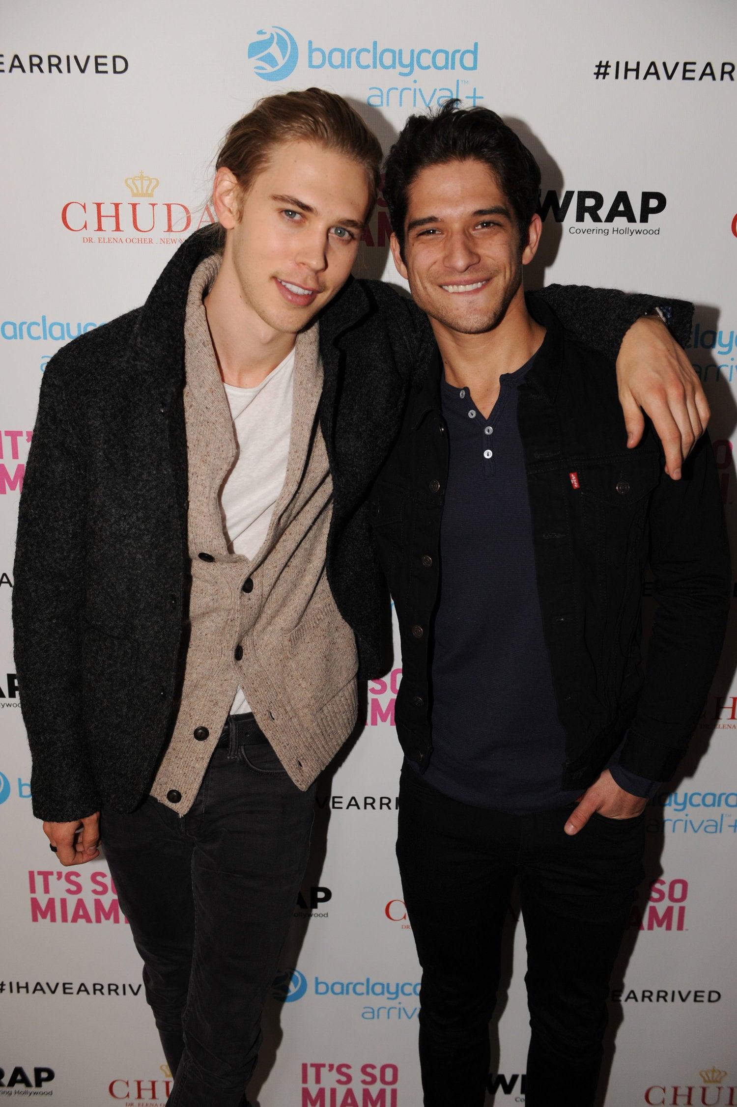 Austin Butler & Tyler Posey Sundance