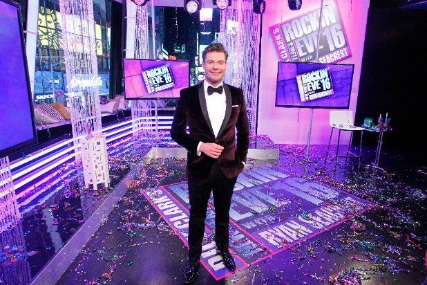 Ryan Seacrest New Years Eve