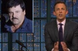 Seth Meyers Discusses El Chapo and Sean Penn Interview