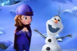 "SOFIA THE FIRST - ""The Secret Library: Olaf and the Tale of Miss Nettle"" - Episodic stills. (Disney Junior) PRINCESS SOFIA, OLAF"