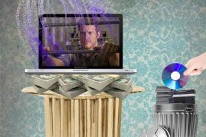 streaming versus dvd sales