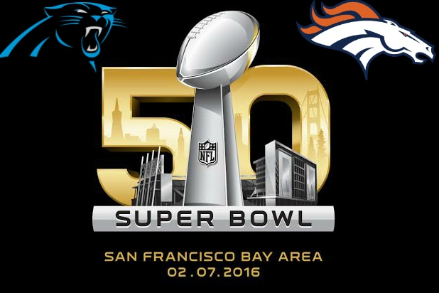 Super Bowl 50 logo with teams cac8db4e7