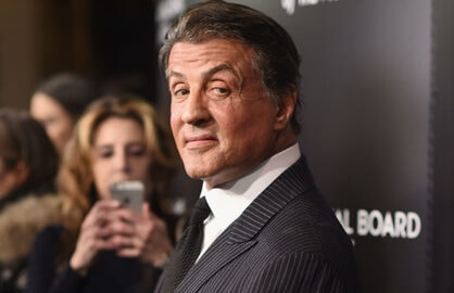 Sylvester Stallone gets standing ovation at Golden Globes