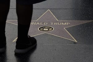 Donald Trump star