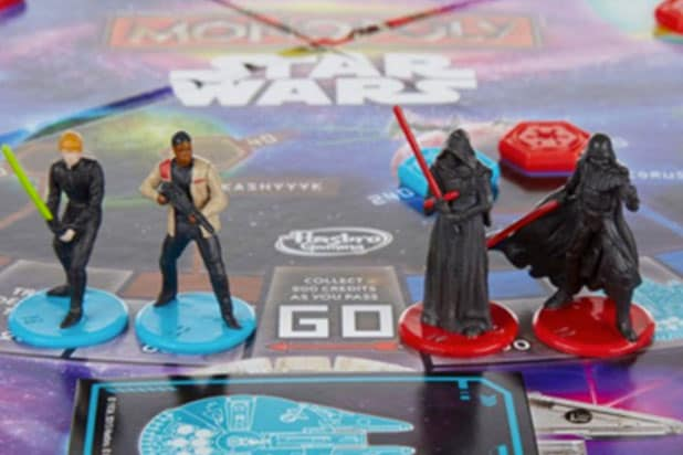 Hasbro excludes Rey from Star Wars monopoly game