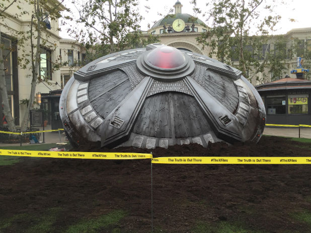 x files ufo the grove
