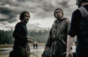 Alejandro Inarritu directing The Revenant