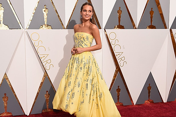 Alicia Vikander Oscars
