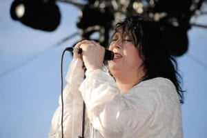 Anohni at Coachella 2009