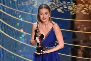 Brie Larson Room Oscar