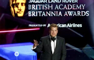 James Corden at the 2015 Britannia Awards. By selecting a date so early, BAFTA is staking out real estate on the early season awards calendar. (Getty Images)