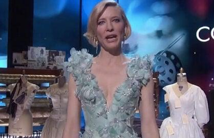 Cate Blanchett Oscars Mannequins
