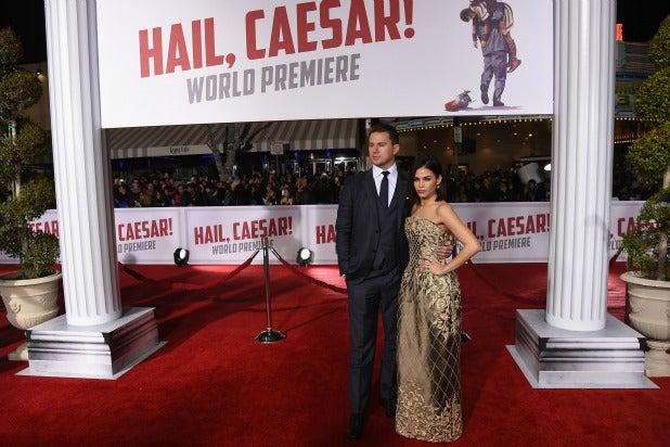 Channing Tatum Jenna Dewan Hail Caesar