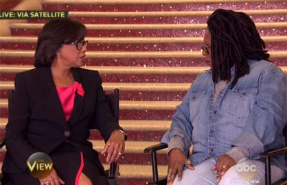 Cheryl Boone Isaacs The View