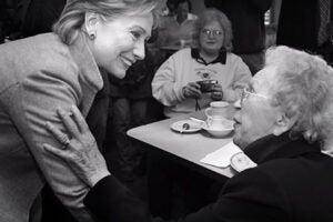 Morgan Freeman voices Hillary Clinton ad