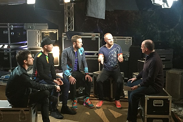 Coldplay on Rich Eisen