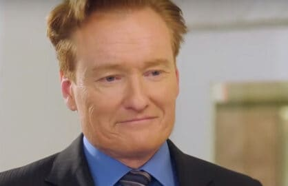 Conan O'Brien as love interest in Korean Drama
