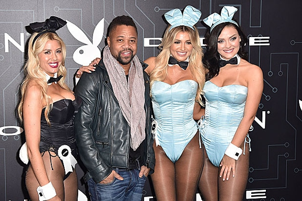 Cuba Gooding Jr at the Playboy Party
