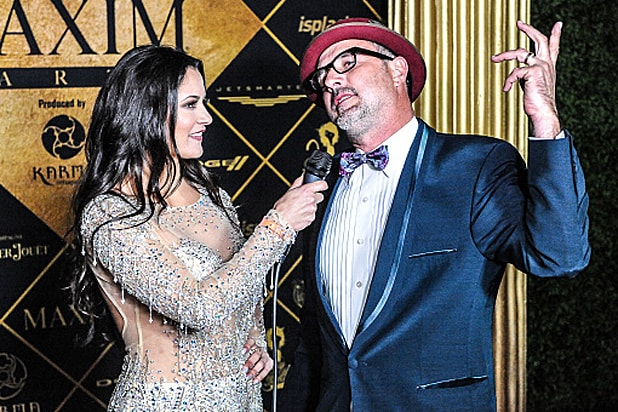 David Arquette at the Maxim Magazine and Bootsy Bellows Super Bowl Party