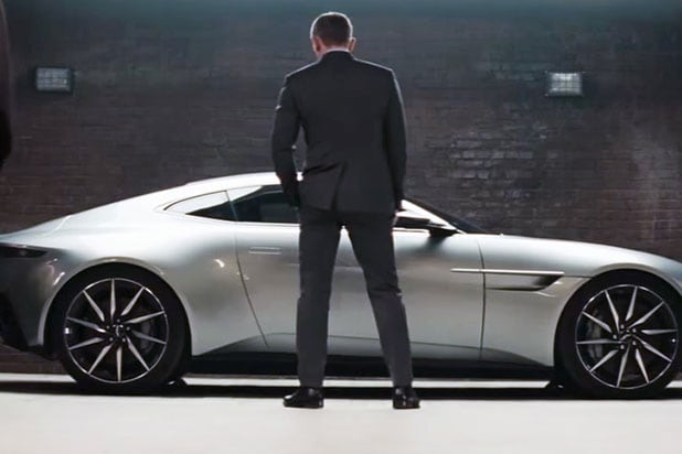 Aston Martin's DB10 sells for $3.5 million