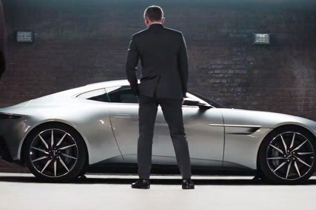 James Bonds Spectre Aston Martin Sells For Million - James bond aston martin db10