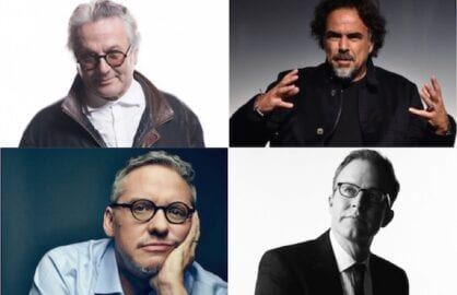 George Miller, Alejandro Inarritu, Adam McKay and Tom McCarthy