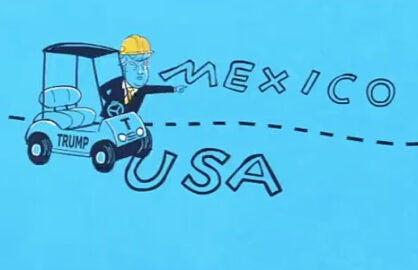 Donald Trump Gavin Newsom Cartoon