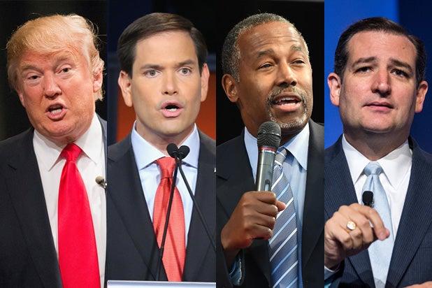 Donald Trump Marco Rubio Ben Carson Ted Cruz