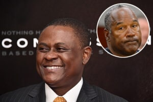 Dr. Bennet Omalu and O.J. Simpson