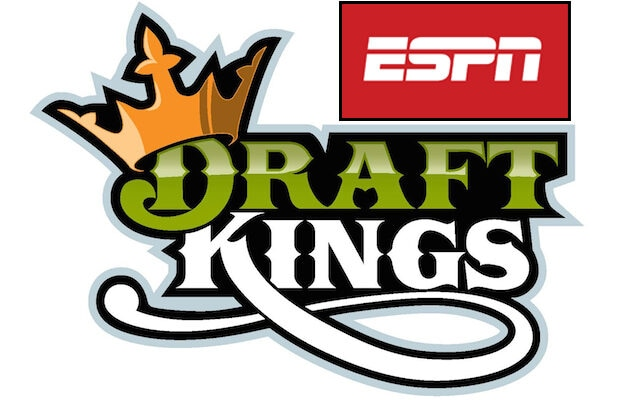 DraftKings and ESPN logos