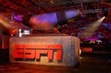 A view of the ESPN logo