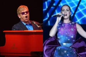 Elton John Katy Perry