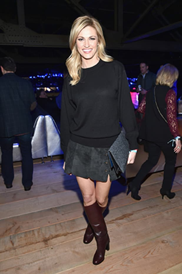 Erin Andrews attends DIRECTV andn Pepsi's Super Thursday Night Featuring Dave Matthews Band