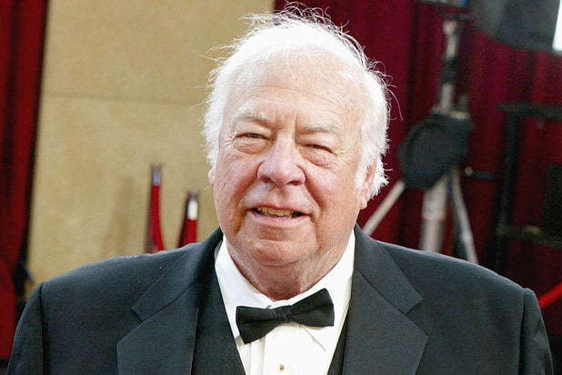 Actor George Kennedy attends the 75th Annual Academy Awards at the Kodak Theater on March 23, 2003 in Hollywood, California