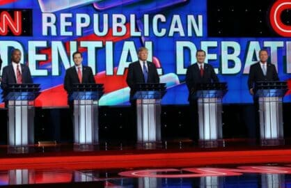 GOP Debate Carson Rubio Trump Cruz Kasich