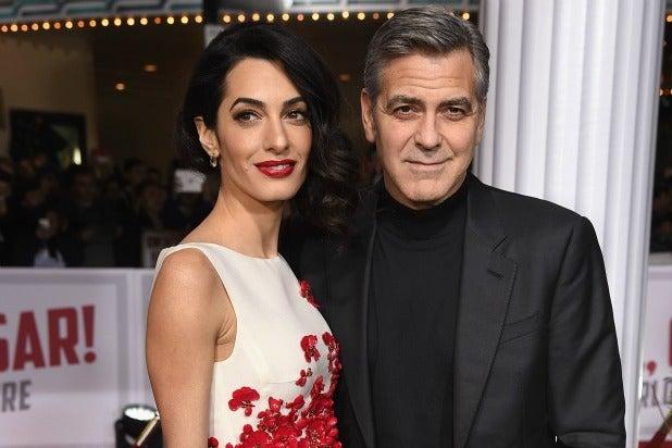 George Amal Clooney Hail Caesar